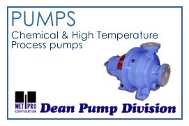 Pumps - Chemical and High Temperature Process pumps