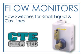 Flow Monitors - Flow Switches for Small Liquid and Gas Lines